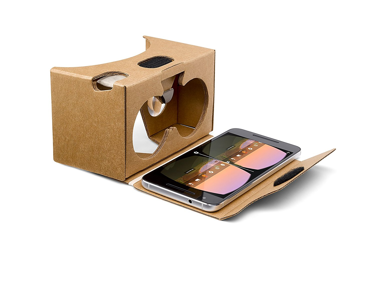 Google Cardboard With Phone